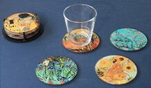 Museum Coasters incl holder.JPG